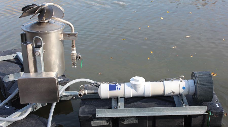 SMI 120 Floating Evaporators for Wastewater Treatment